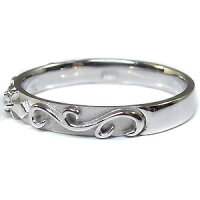 【送料無料】プラチナ・ペアリング・一粒・ダイヤモンド・結婚指輪・マリッジリング【_包装】