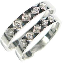 ペアリング・ダイヤモンド・K18・マリッジリング・結婚指輪