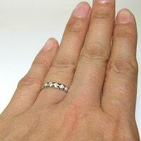 【送料無料】マリッジリング・結婚指輪・ペアリング・ダイヤモンド・K18【_名入れ】【RCP】
