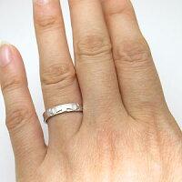 【送料無料】クロスリング・ペアリング・10金・マリッジリング・結婚指輪【_包装】