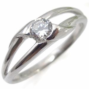 【10%OFF】11日1:59迄 プラチナ・ダイヤモンド・ リング・一粒・指輪