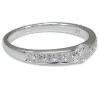 【送料無料】ダイヤモンド・リング・婚約指輪・エンゲージリング・ハーフエタニティ・リング・指輪・0.3ct・一粒・10金【_名入れ】【RCP】