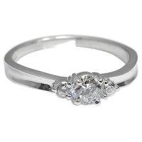 【送料無料】ダイヤモンド・リング・一粒・指輪・18金・リング【_名入れ】【RCP】