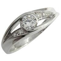 【送料無料】婚約指輪・エンゲージリング・指輪・ダイヤモンド・リング・一粒・18金・リング【_名入れ】【RCP】