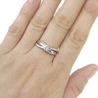【送料無料】プラチナ・リング・婚約指輪・ダイヤモンド・エンゲージリング【_名入れ】【RCP】