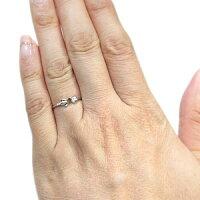 【送料無料】選べる誕生石・リング・リボン・リング・10金・シンプル・指輪【楽ギフ_包装】【RCP】10P06May14