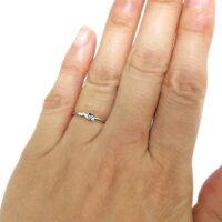 【送料無料】ピンキーリング・ブルートパーズ・シンプル・リング・10金・指輪【_包装】【RCP】10P01Nov14
