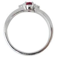 【送料無料】ルビー・リング・プラチナ・リング・一粒・指輪【_名入れ】【RCP】10P01Nov14