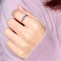 【送料無料】ヘビピンクトルマリンリング指輪K10ピンキーリング【_包装】【RCP】10P01Nov14