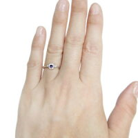 【送料無料】薔薇指輪リング一粒誕生石花リング【_包装】【RCP】10P01Nov14