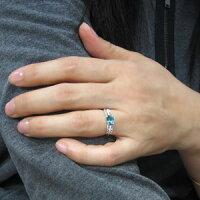 【送料無料】指輪ブルートパーズK18リング【_包装】【RCP】10P08Feb15