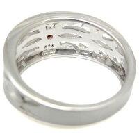【送料無料】トライバルリングガーネットリングK10指輪メンズ【RCP】10P27May16