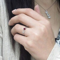 【送料無料】ルビー指輪プラチナリング一粒リング【_包装】【RCP】10P11Apr15