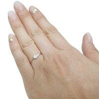 【送料無料】ダイヤモンドリングプレゼント一粒K18シンプル指輪【RCP】10P04Jul15