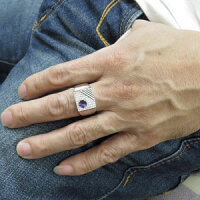 【送料無料】プラチナ印台メンズリングゴージャス指輪誕生石【RCP】10P04Jul15