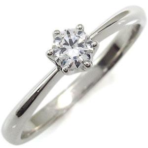 婚約指輪・約0.30ct・エンゲージリング・k18・ダイヤモンドリング・一粒・ダイヤ【RCP】10P06Aug16:PLEJOUR-プレジュール-
