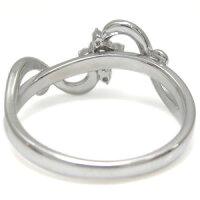 【送料無料】クロスリングプラチナダイヤモンドリング唐草指輪【RCP】10P23Sep15
