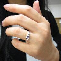 【送料無料】プラチナアメジストリング唐草指輪アラベスクリング【RCP】10P05Oct15