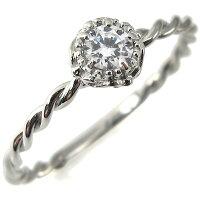 【送料無料】婚約指輪・k18・ダイヤモンドリング・シンプル・指輪・ダイヤモンド【RCP】10P19Dec15【BOX受取対象商品】