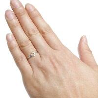 【送料無料】星月モチーフ誕生石リングピンキーリングムーン指輪K10一粒【RCP】10P06Aug16