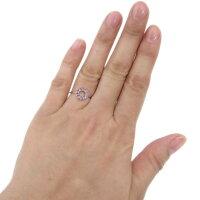 【送料無料】プラチナエタニティピンクトルマリンリング指輪サークル【RCP】10P23Apr16