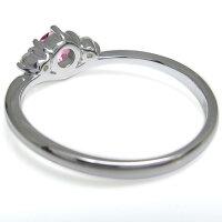 【送料無料】ピンクトルマリンV字リングシンプルリング指輪K18【RCP】10P27May16