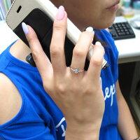 【送料無料】プラチナうさぎリングダイヤモンド兎ラビット指輪【RCP】10P27May16