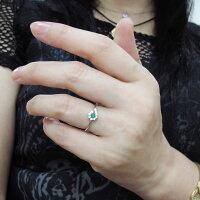【エントリーポイント最大13倍】1日9:59迄【送料無料】エメラルド・ブライダルリング・取り巻き・指輪・結婚10周年・K10【RCP】10P27May16