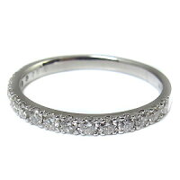 【送料無料】ハーフエタニティ・10金・ダイヤモンド・リング・ダイヤ・指輪【RCP】10P06Aug16