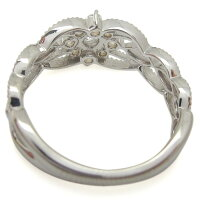 【送料無料】プラチナ婚約指輪取り巻きリングダイヤモンド【RCP】10P06Aug16