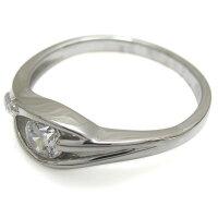 【送料無料】ダイヤモンドリング10金エンゲージリングシンプル婚約指輪【RCP】10P06Aug16