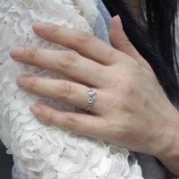 【送料無料】リボンモチーフアメジストリング可愛いりぼん10金指輪【RCP】10P06Aug16