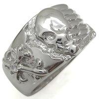 【送料無料】プラチナ十字架指輪ダイヤモンドクロスリング髑髏リング【RCP】10P06Aug16