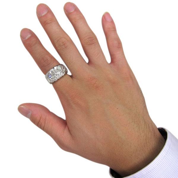 メンズ・指輪・タンザナイト・12月誕生石・10金・おしゃれ・リング・20代・30代・40代