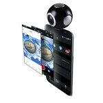BENEVEAndoroidスマートフォン用全天球カメラEYEBALLC360度カメラブラック