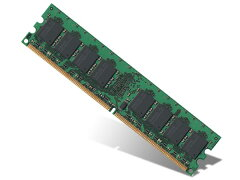 PQI DDR2-667 PC2-5300 240pin 1GB DIMM バルク品 ( BUDD2667-1G )