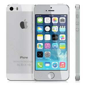【アウトレット】Apple(アップル)iPhone5sSIMフリースマートフォンModel:A1453Silverシルバー16GBアップル正規整備済品国内版