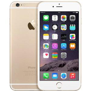 アップルiPhone6PlusSIMフリー64GB正規整備済品ゴールド