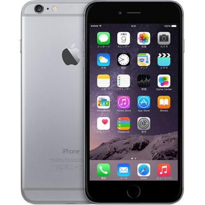 アップル iPhone 6 Plus SIMフリー 128GB 正規 整備済品 スペースグレー