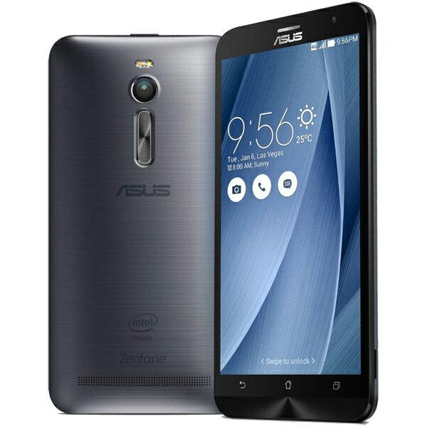 【シルバーランク】ASUS(エイスース) ZenFone 2 SIMフリースマートフォン グレー ( ZE551ML-GY3...