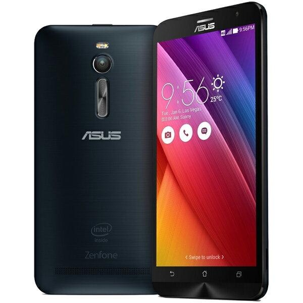 【シルバーランク】ASUS(エイスース) ZenFone 2 SIMフリースマートフォン ブラック ( ZE551ML-B...