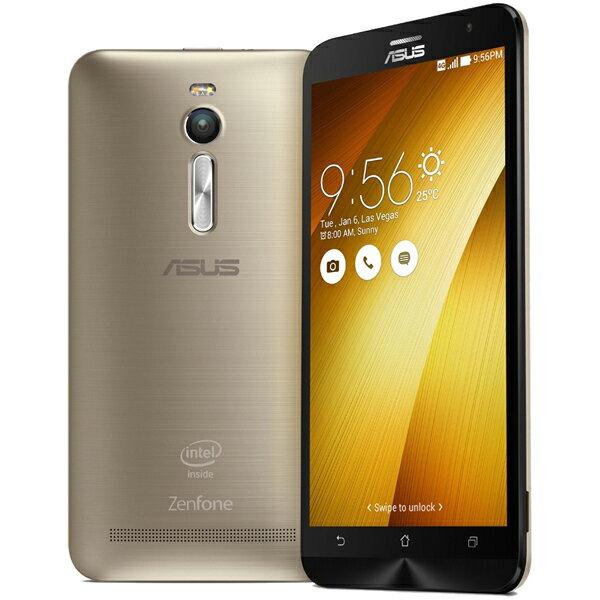 【シルバーランク】ASUS(エイスース) ZenFone 2 SIMフリースマートフォン ゴールド ( ZE551ML-G...