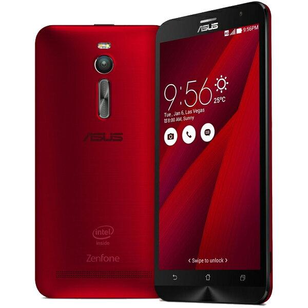 【シルバーランク】ASUS(エイスース) ZenFone 2 SIMフリースマートフォン レッド ( ZE551ML-RD6...