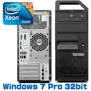 lenovo(レノボ)ThinkStationE32Tower(30A0A0A9JP)デスクトップ/Win7Pro/Xeon/DVD-ROM/HDD250GB/QuadroK2000
