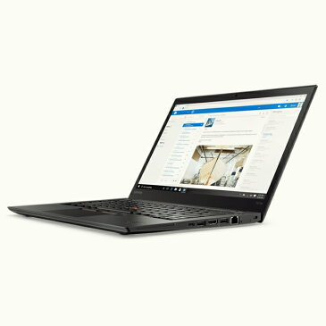 lenovo(レノボ)ThinkPad T470s ( 20HFCTO1WW/FW7J ) Windows 10 Pro 英語版 English 14.0インチ フルHD(1920×1080) Core i5 メモリ 20GB SSD 512GB 無線LAN WEBカメラ