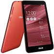 ASUS MeMO Pad 7 レッド ( ME176-RD16 ) Android Atom搭載 7インチ タブレット ストレージ容量16GB