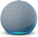 【送料無料】アマゾンジャパン Echo Dot (エコードット) 第4世代 - スマートスピーカー with Alexa トワイライトブルー B084KTKPFQ・・・