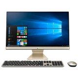 23.8インチ フルHD Core i3 メモリ 4GB HDD 1TB Windows10 ASUS ( エイスース ) Vivo AiO V241ICUK ( V241ICUK-I3BLKHB ) デスクトップ パソコン 一体型 中古 とは品質が違う 再整備品