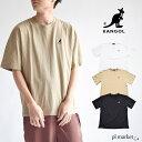 カンゴール KANGOL ロゴ刺繍 半袖 TEE /ロゴT