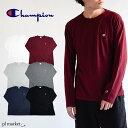 チャンピオン Champion C3-P401 CHAMPION BASIC オールラウンド・スポーツ/メンズ/ロコンド/ メンズ 長袖Tシャツ LONG SLEEVE T-SHIRT ロンTコットン100%ベーシックロンT ロングC3-J424